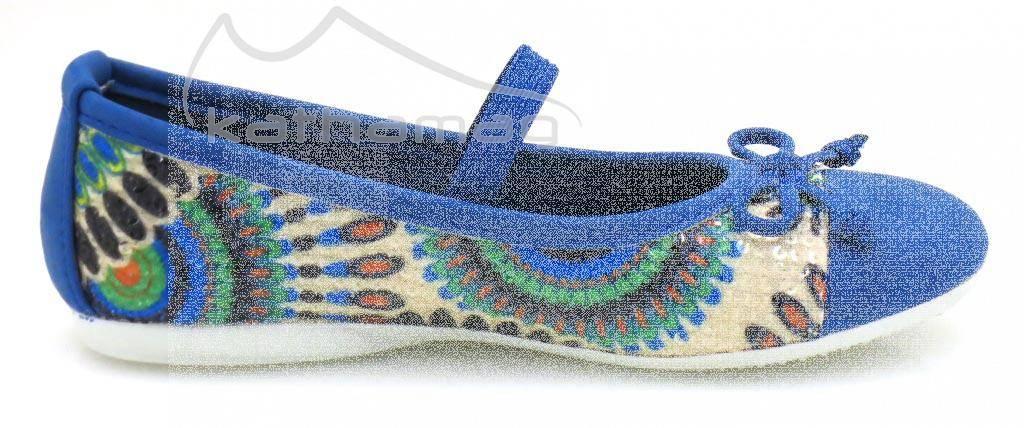 Top Teen Mädchenballerina bunte Ballerinas Mädchenschuhe Schuhe Sommerschuhe 032