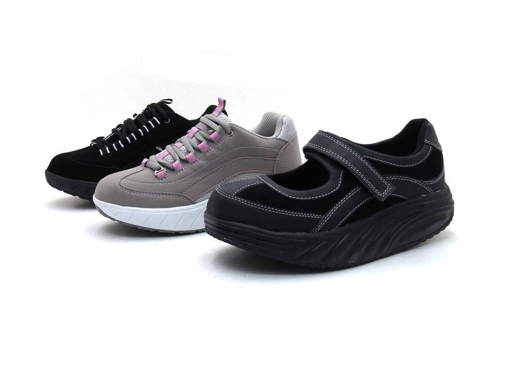 natural power trainer running shoes rollup sole roll up shoes womens 2000208 grey ebay. Black Bedroom Furniture Sets. Home Design Ideas