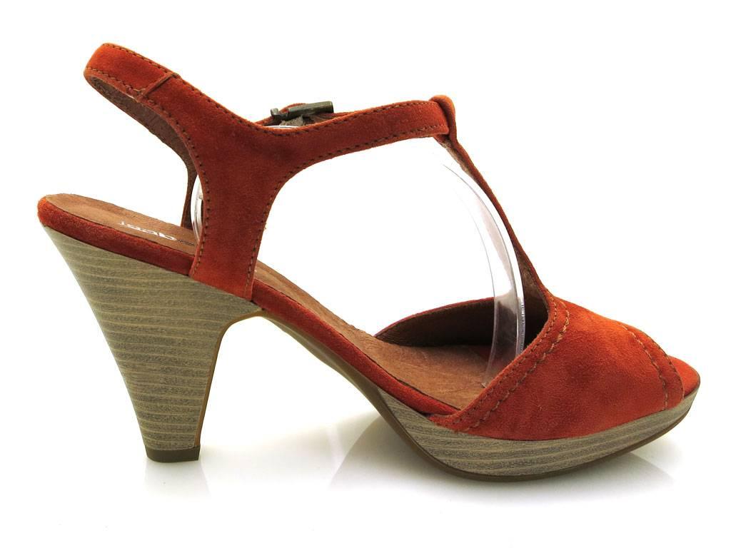 isabelle sandalette sandalen damenschuhe ledersandalette. Black Bedroom Furniture Sets. Home Design Ideas