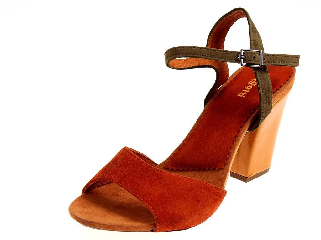 bugatti wildledersandalette w9188 sandalette schuhe leder damen sommerschuhe. Black Bedroom Furniture Sets. Home Design Ideas