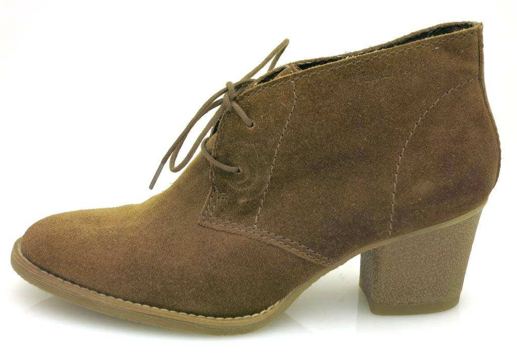 671d383d01734c Tamaris Bottine Mocassins à dentelle chaussures à lacets femme en ...
