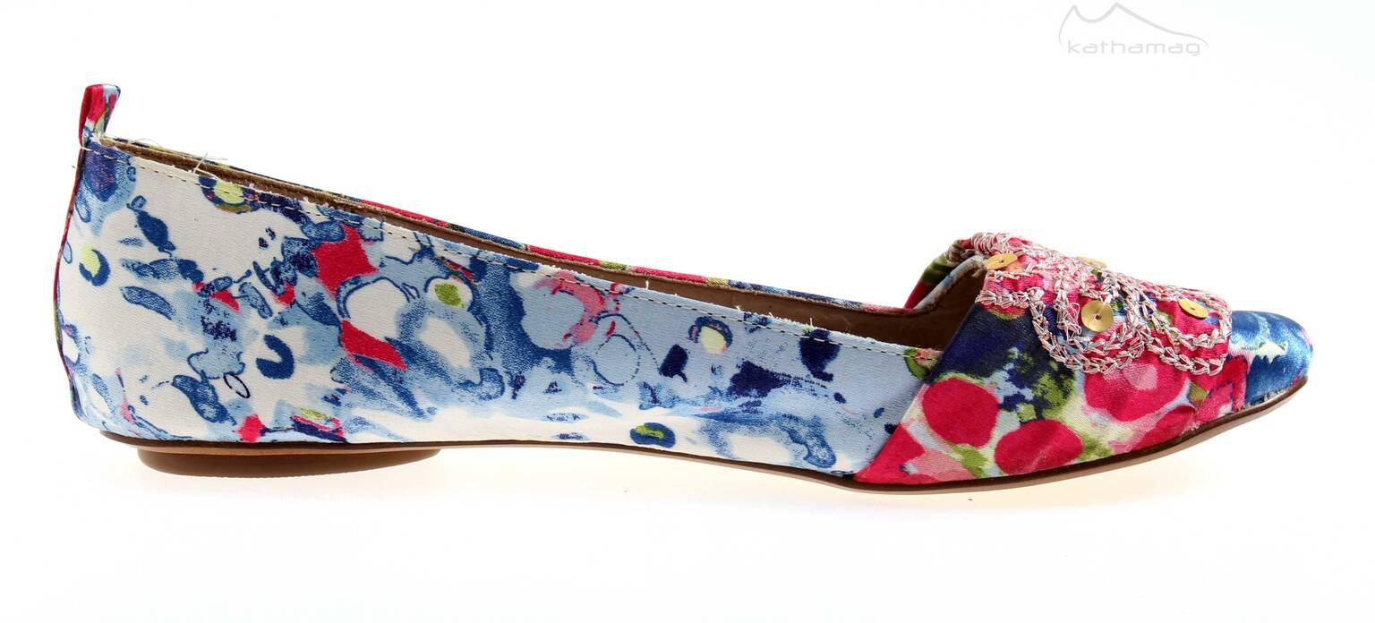 Bullboxer bunter Ballerina Pailetten Schuhe für Damen Mädchen 4421