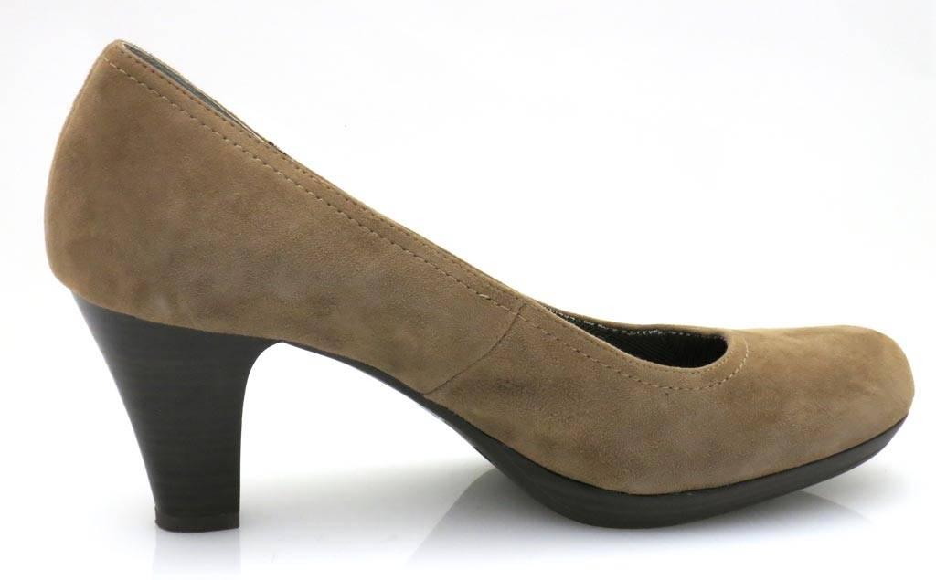 Détails sur TAMARIS escarpins en cuir plateformes chaussures pour femmes sauvage NEUF