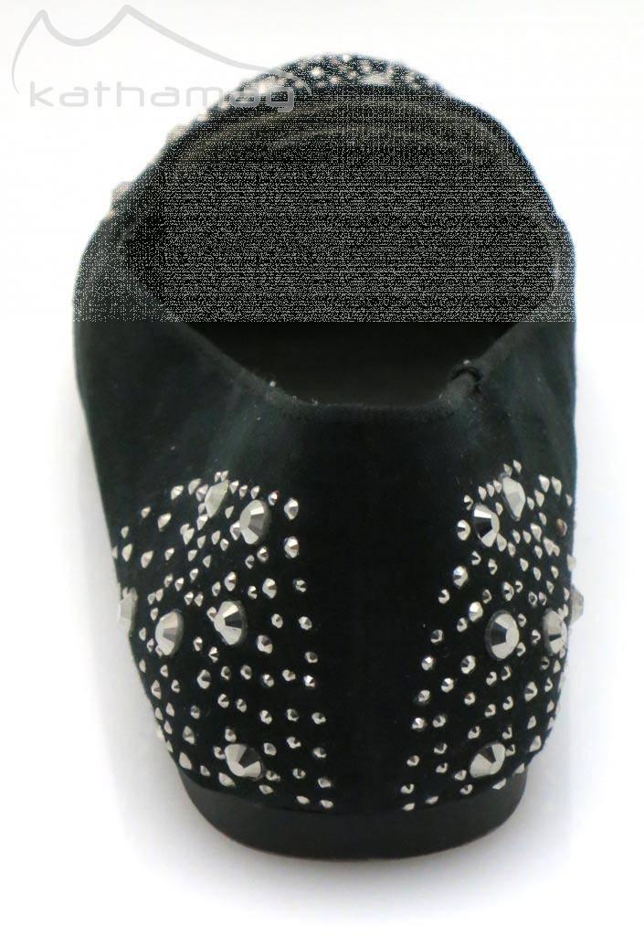 Dolce Vita elegante Ballerinas Damenschuhe Sommer Schuhe schwarz Nieten 5769