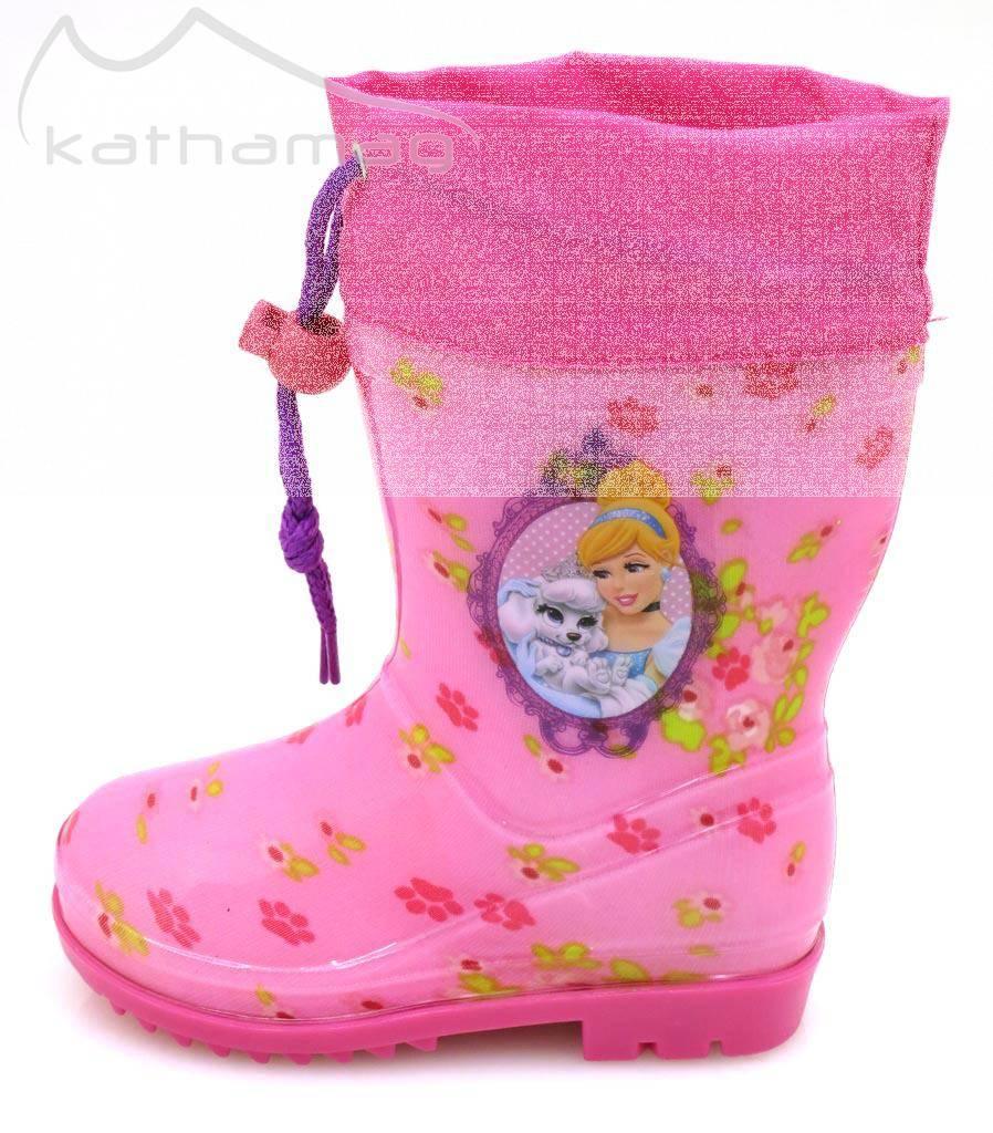 Disney Gummistiefel für Mädchen Regenboots Regenstiefel Sofie Minnie Princess