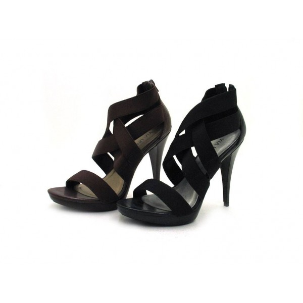 Via Uno - High Heel Sandalette - 20981605 Black