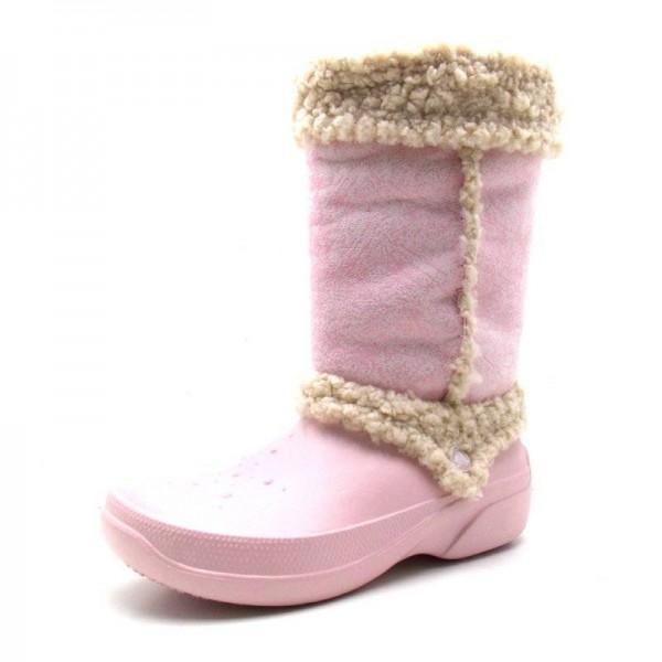 Crocs - Stiefel - Nadia-Cotton Candy