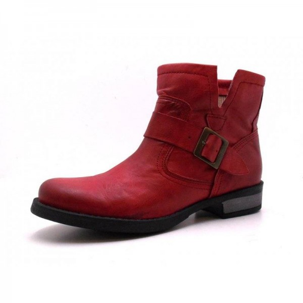 Sapatoo - Stiefelette - S1305-003 Vermelho