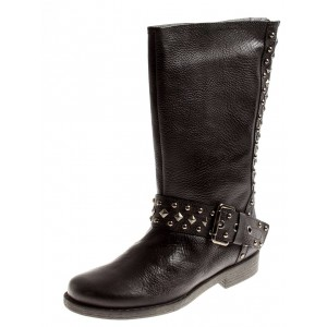 Quest Lederstiefel in black - 38