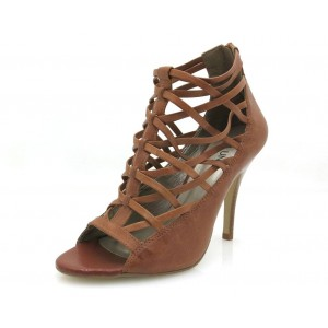 Via Uno High Heels in camel
