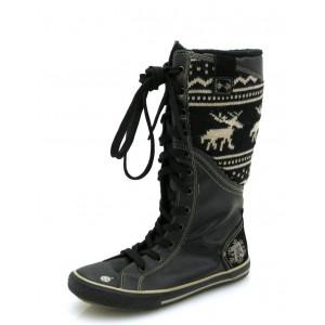 Dockers Stiefel 2388 schwarz