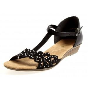 Rieker Sandale 42255 schwarz