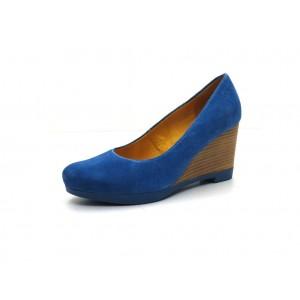 S.Oliver - Keilpumps - 5281 Blau