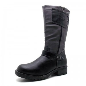 Indigo - Stiefel - Indigo-466438 Schwarz/Grau
