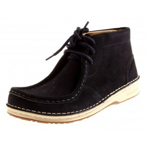 Footprints Boots Pasadena-Night blue-36 - schmal