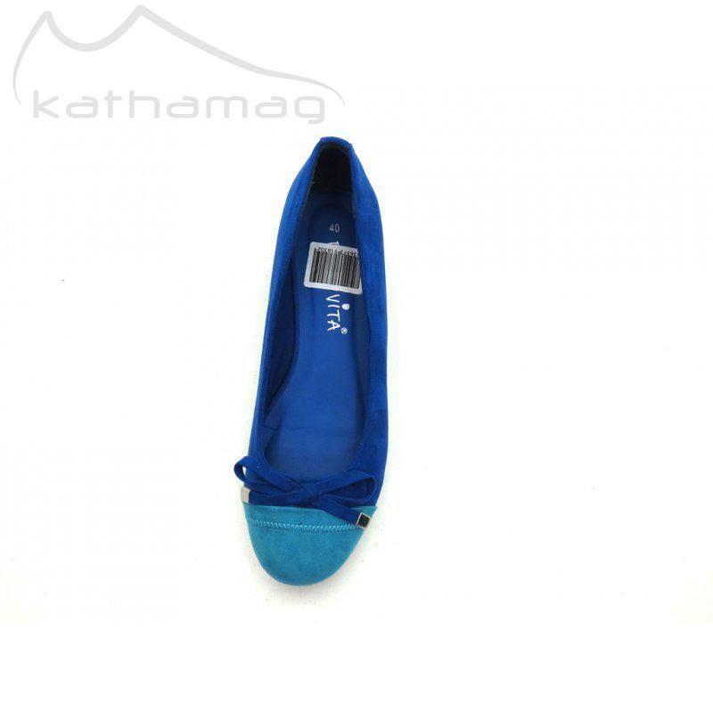 Dolce Vita Ballerina Schuhe Damenschuhe Slipper Ballerinas 4956 Blau