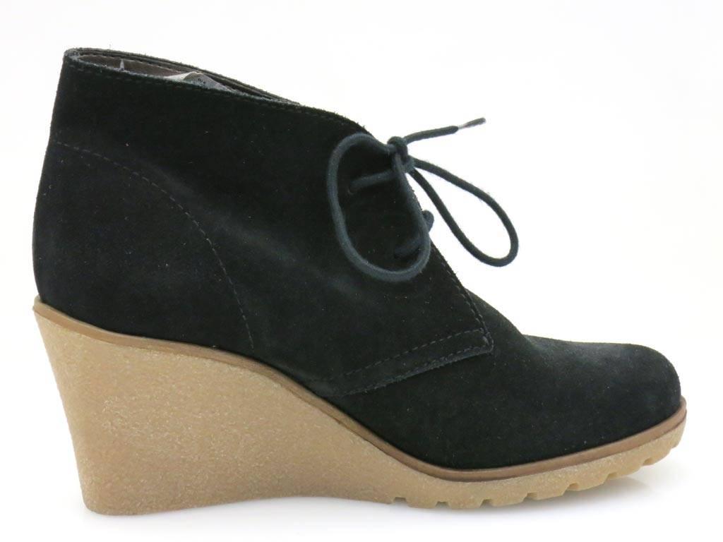 Esprit Schn Rschuhe Wedges Lederschuhe Damenschuhe Schuhe