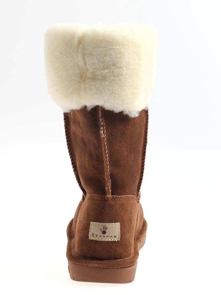 bearpaw lammfelstiefel winterstiefel leder lammfell damen marissa boots ebay. Black Bedroom Furniture Sets. Home Design Ideas