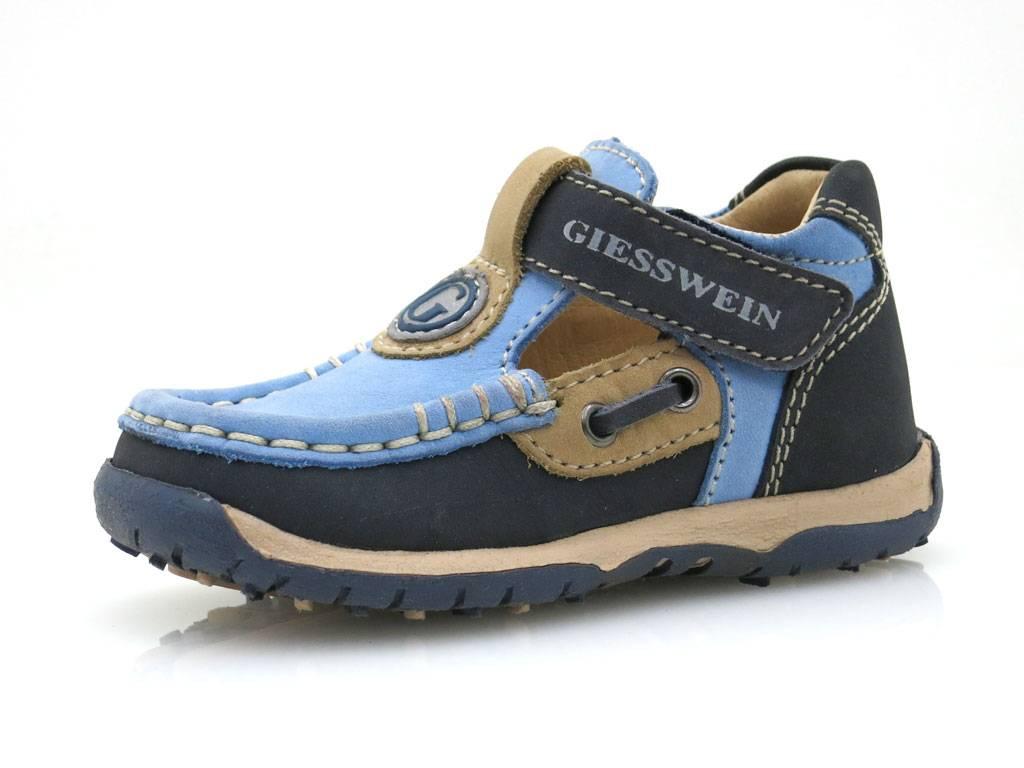 Giesswein Lauflerner Mokassin Lederschuhe Leder Schuhe Jungenschuhe 20 NEU