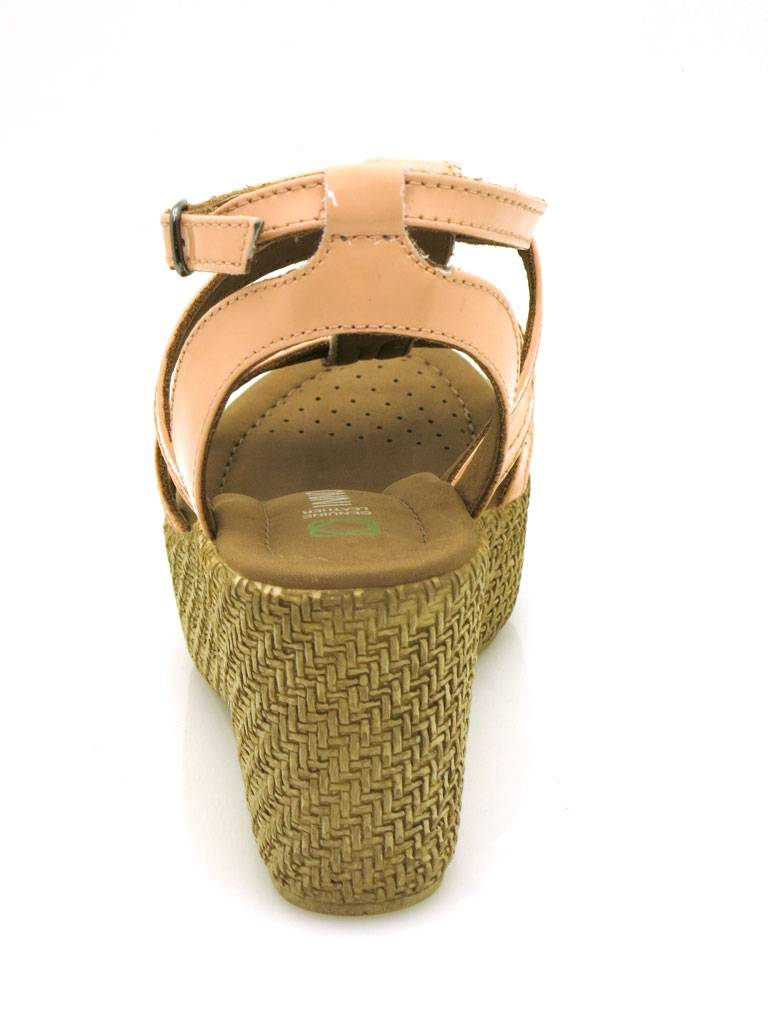 Innocent Keil-Sandalette LederSandaleette Lederschuhe Lederschuhe Lederschuhe Lackleder 124-AD01 99e57a
