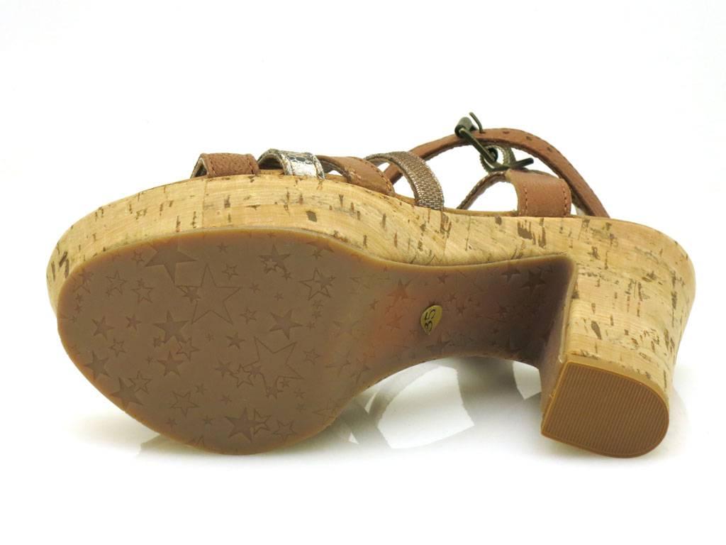 Innocent butterweiche Heel Sandalette LederSandaleette Lederschuhe High Heel butterweiche 193-SS03 b3314b