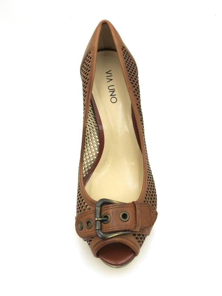Via Uno High High High Heels Peep Toe Damenschuhe Sommerschuhe Schuhe 20956502 9f5b2a