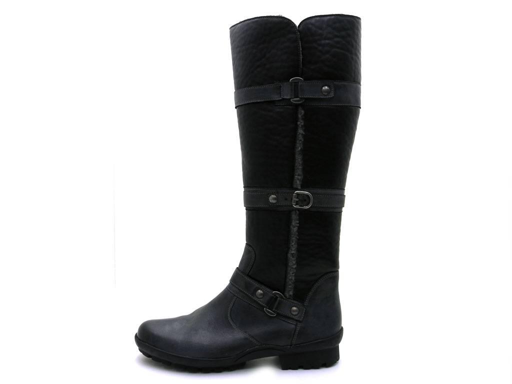 Gabor botas Lang caña botas señora botas botas de cuero cuero de zapatos de piel 33.732 aa6886