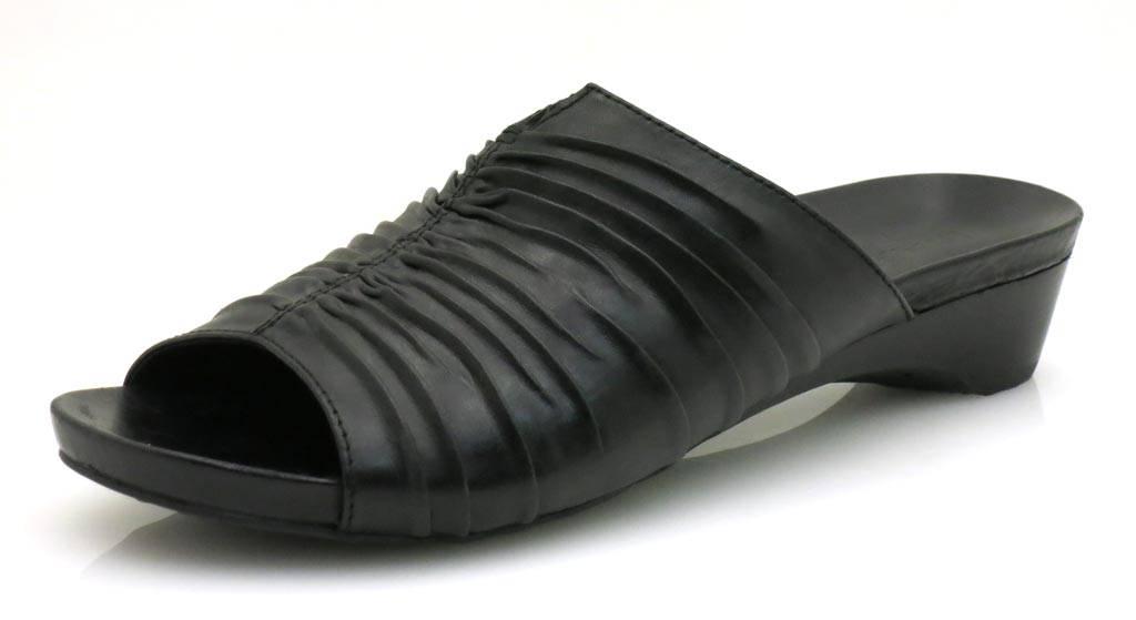 Marc Leder Lederpantolette Pantolette Damenschuhe Lederschuhe Leder Marc Schuhe 2 Farben 659566