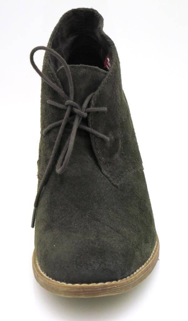 Details zu Tamaris Ankle Boot Schnürpumps Schnürschuhe Damenschuhe Lederschuhe Leder Schuhe