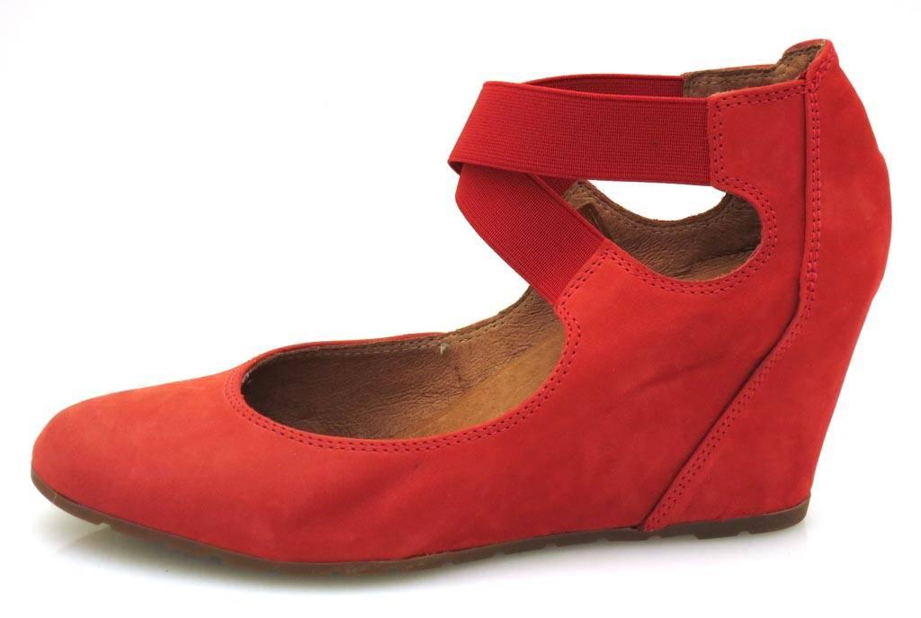 Isabelle Lederpumps Pumps rot Wedges Damenschuhe Schuhe Lederschuhe rot Pumps 4936 NEU 0872bc