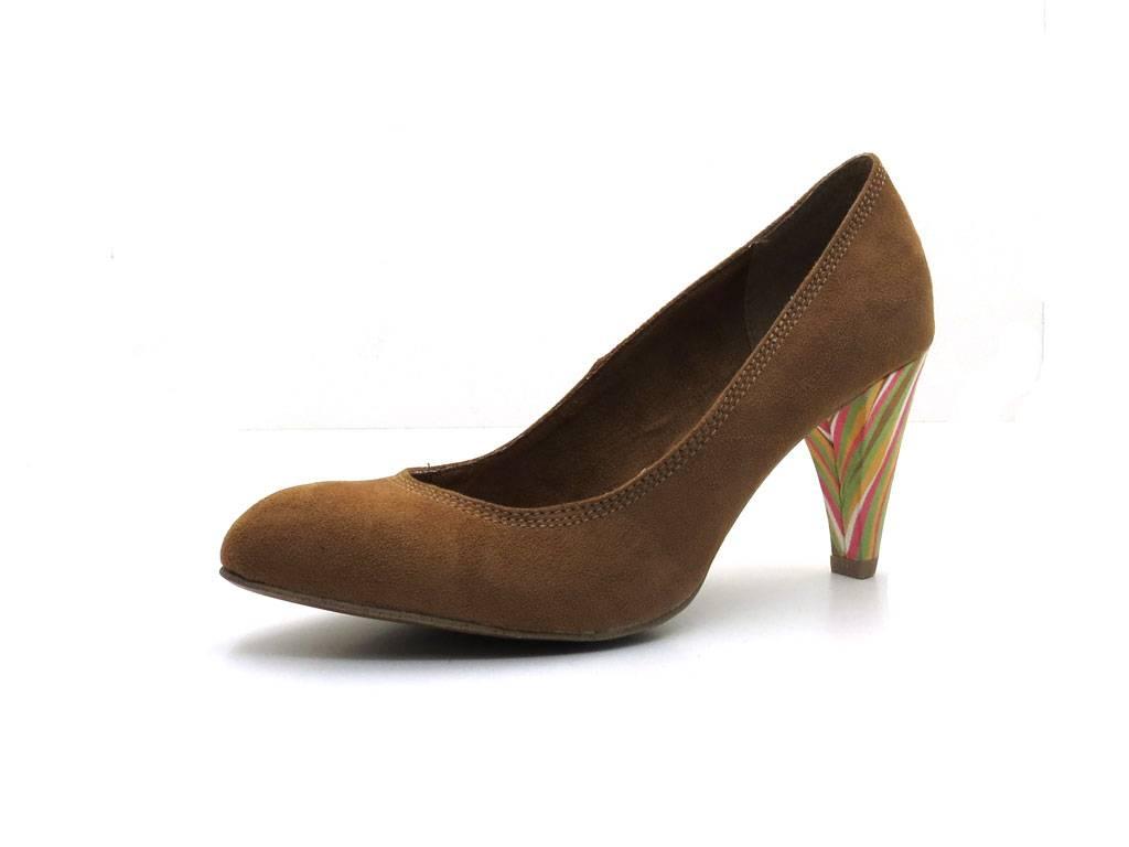 Braune High Heels von Marco Tozzi | Kleiderkreisel | Absatz