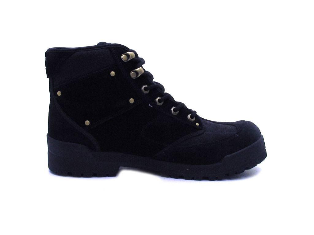 Kangaroos Stiefel Herren Trekkingschuhe Boots Schnürboots Herren Stiefel 71598 Missouri Black c1db05