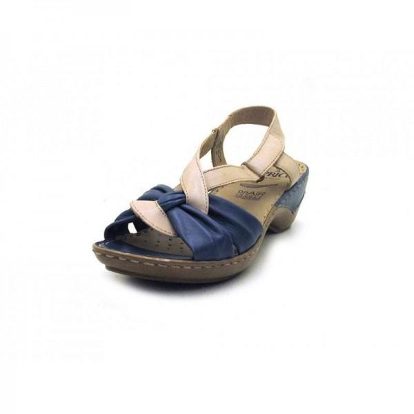 Caprice - Sandalette - 9-28658-22 Sand Mid Blue