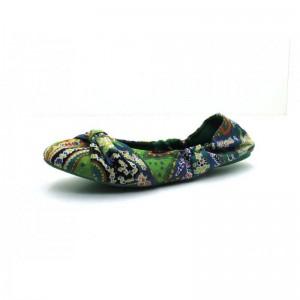 Frenzy Footwear - Ballerina - 2207 Grün