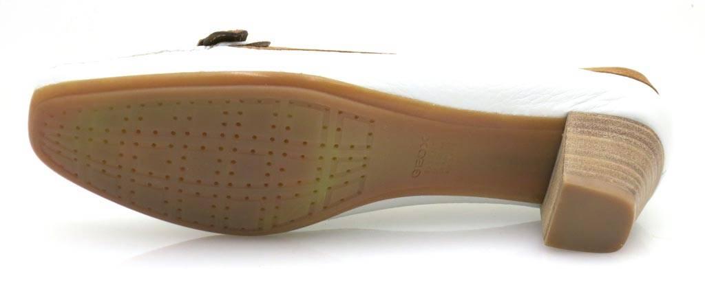 Geox Pumps Damenschuhe D Flo M Lederpumps Damenschuhe Pumps Damen Schuhe Leder weiss 41fa2c