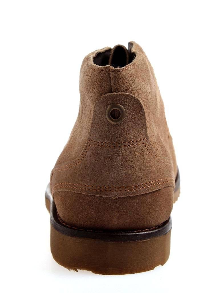 GUT Herrenschnürer Wildleder für Winter gefüttert Wolle Wildleder Herrenschnürer Schuhe braun 1747a5