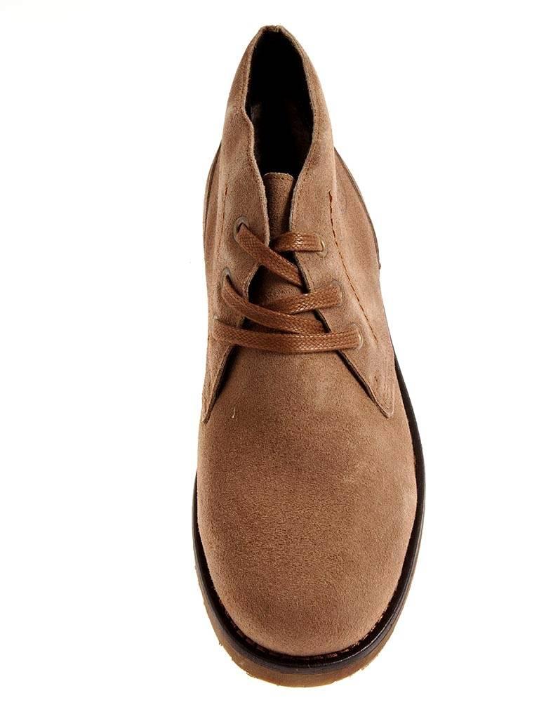 357307a826 GUT Herrenschnürer für Winter gefüttert Wolle Wildleder Schuhe braun ...